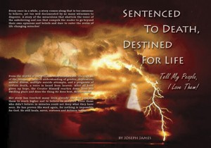 """Sentenced To Death, Destined For Life"" Book Cover"