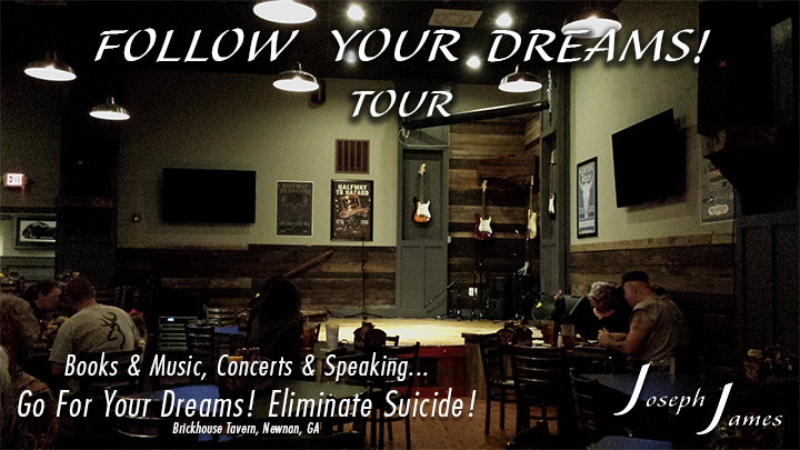 Follow Your Dreams Tour | Joseph James | GameChangers Universal