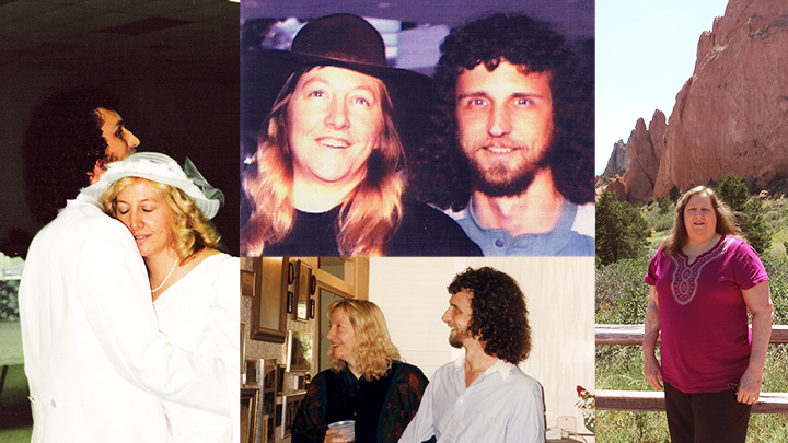 Janiece and Joseph James through the years from their marriage