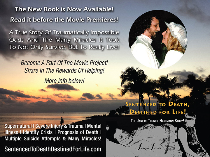 SENTENCED TO DEATH, DESTINED FOR LIFE by Joseph James Book & New Movie