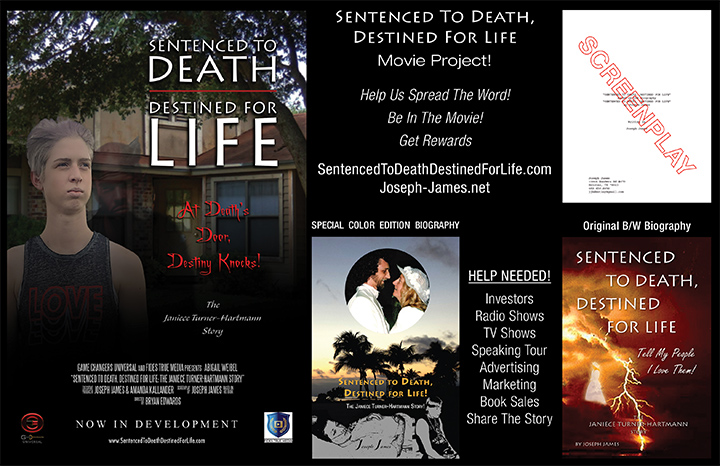 SENTENCED TO DEATH, DESTINED FOR LIFE Movie Project | Joseph James | Crowdfunding