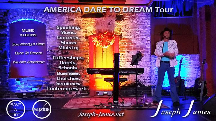 AMERICA DARE TO DREAM TOUR | Joseph James
